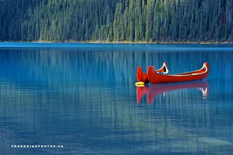 Canoes Canada Lake Louise