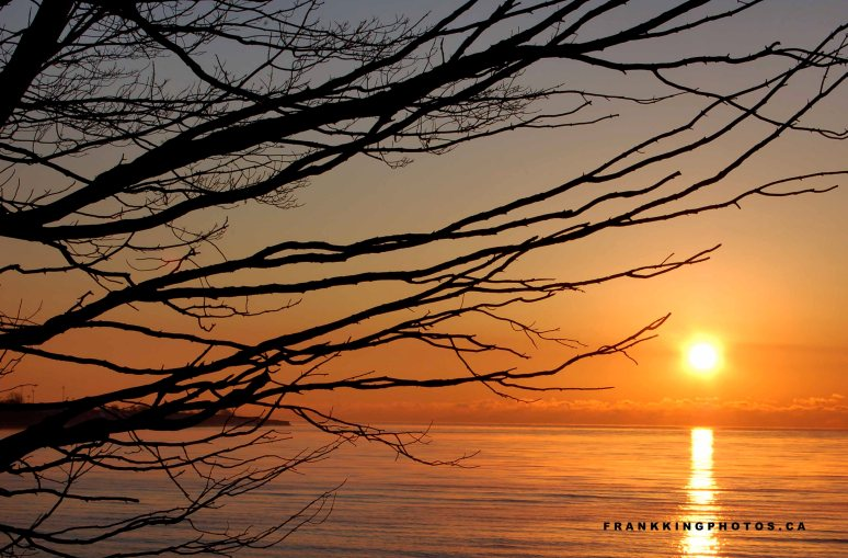 Winter Sunrise, Whitby, Ontario