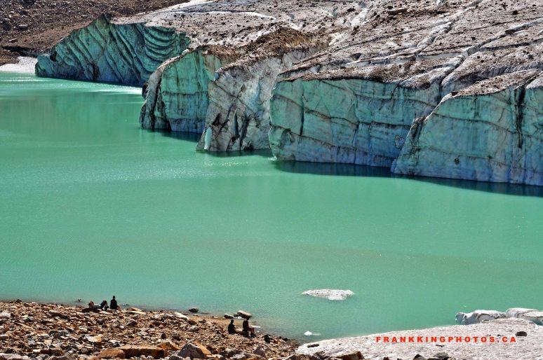 Cavell Lake, Cavell Glacier