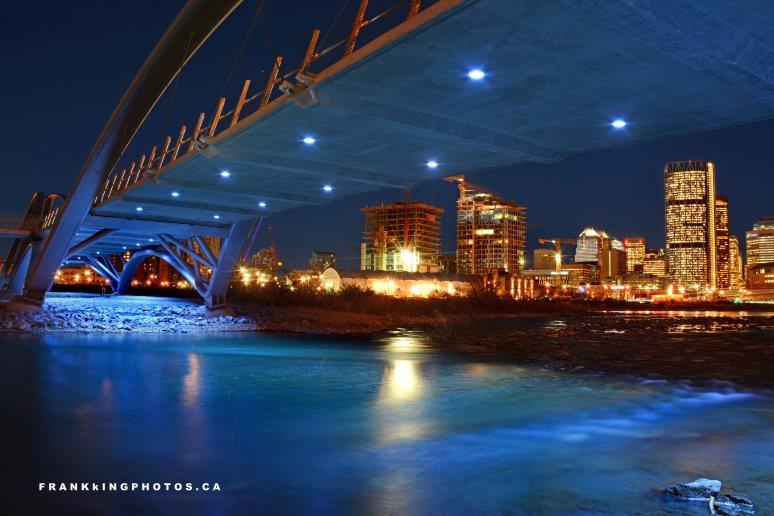 Calgary St. Patrick's Island Bridge