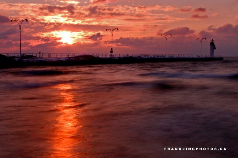 Oshawa sunrise Ontario