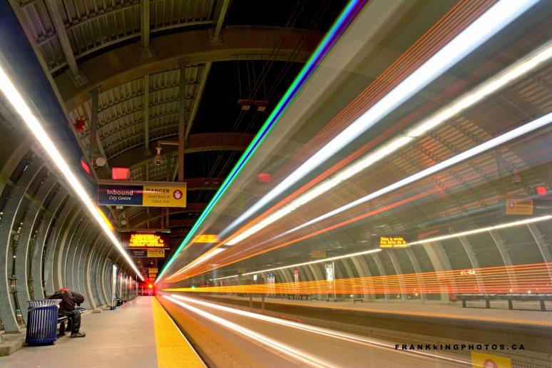 Canada commuter train