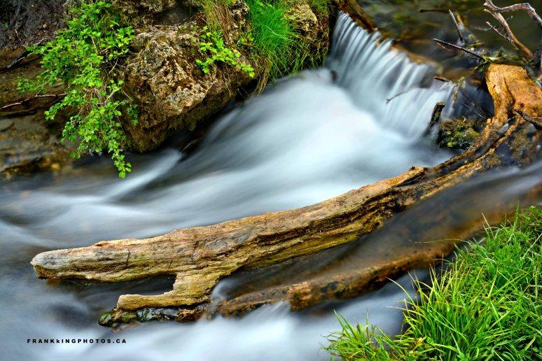 summer waterfall Canada