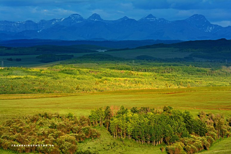 Canada prairies Alberta Rockies
