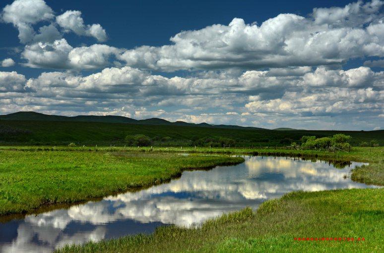 prairie clouds canada alberta