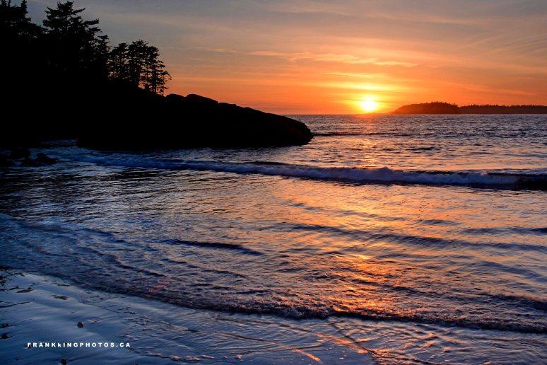 Canada Tofino ocean sunset
