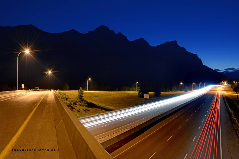 long exposure Canada Rocky Mountains