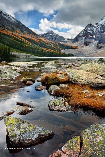 Banff autumn Canada Rockies