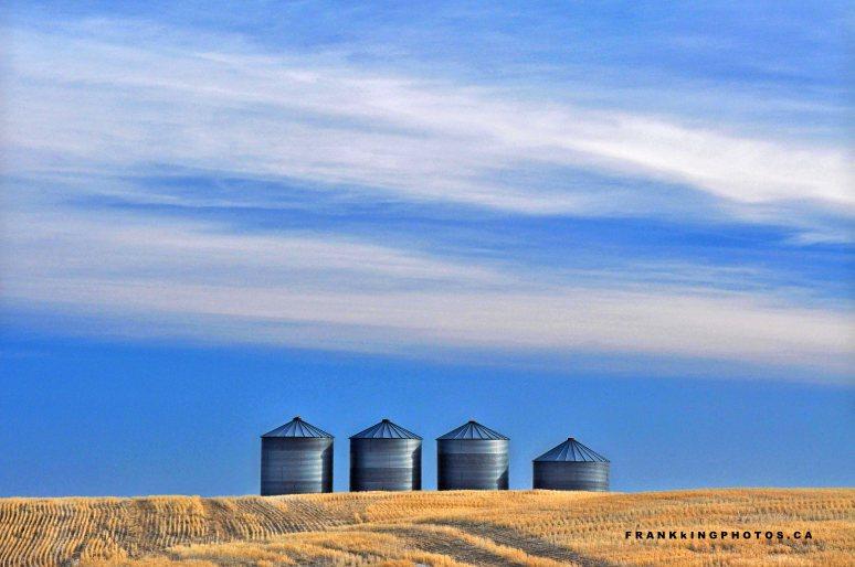 grain silos prairies Canada