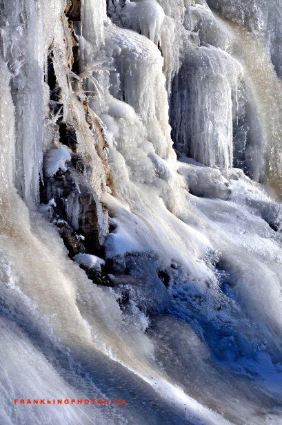 winter Canada ice Jasper