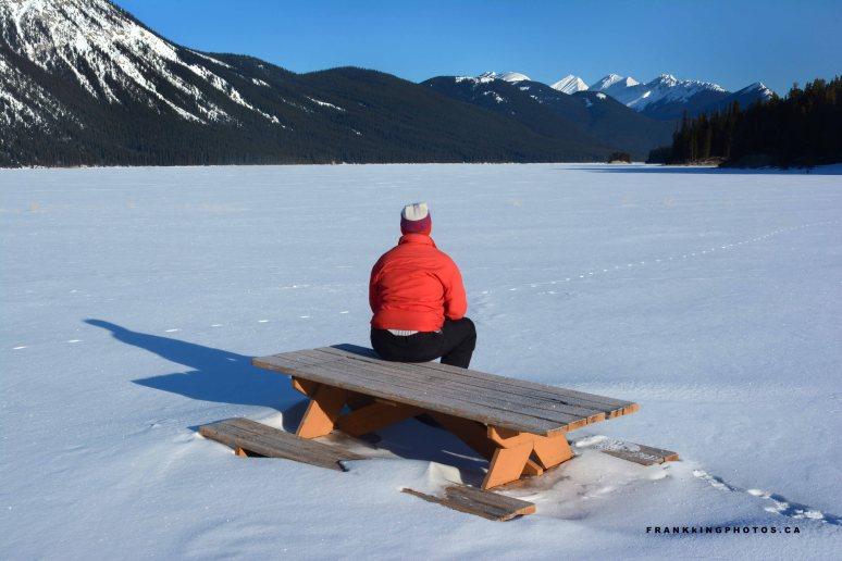 winter Canada Rockies Kananaskis