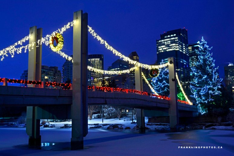 Calgary Canada winter Christmas