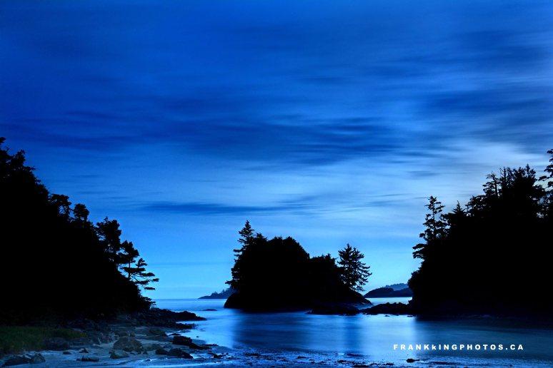 Canada Tofino dusk