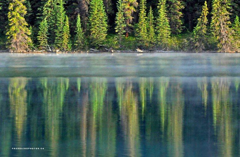 Jasper lake Canada