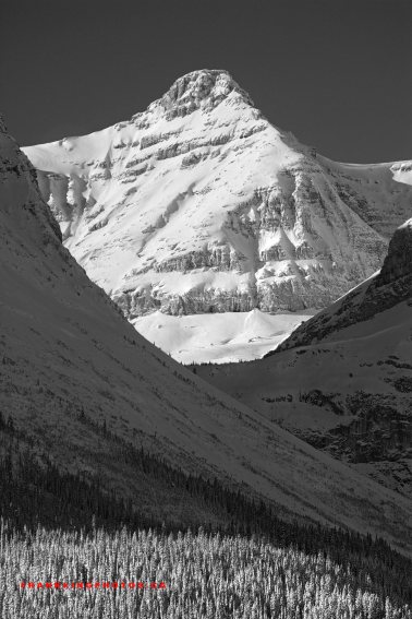 winter mountains Rockies Canada