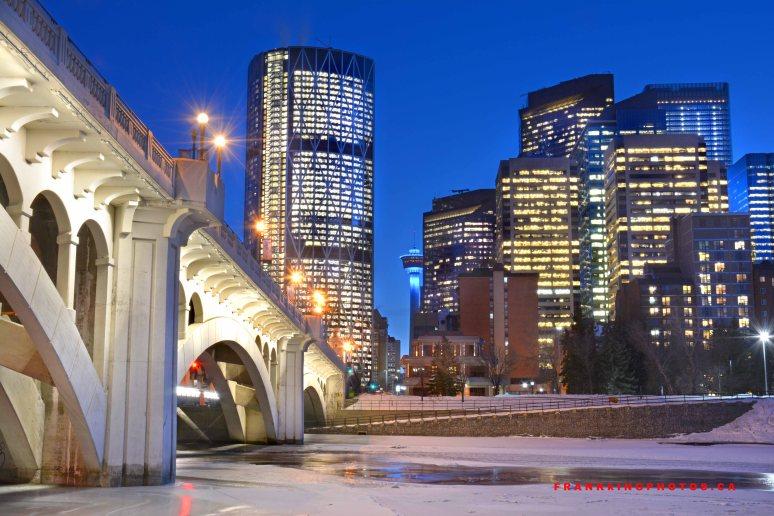 Calgary YYC skyscrapers