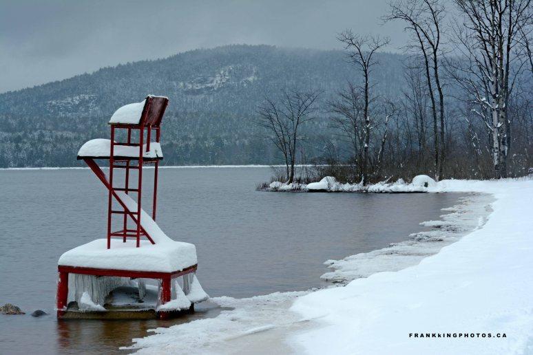 snowy river Ontario Canada