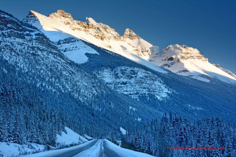 winter snow Rockies Canada